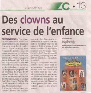Des clowns au service de l'enfance